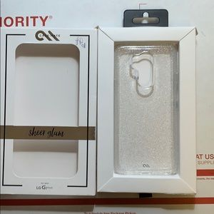 Casemate LG G7 ThinQ sheer glam case new